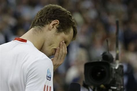 Beaten in the final but, the poeple's champion for sure!. Wimbledon 2012: Gutted Andy Murray breaks down as he hails champion Roger Federer - Daily Record