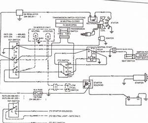 John Deere Model 2010 Wiring Diagram