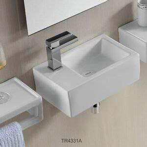 Kleine Waschbecken Für Gäste Wc : design waschtisch kleines g ste wc handwaschbecken hahnloch links waschbecken ebay ~ Watch28wear.com Haus und Dekorationen