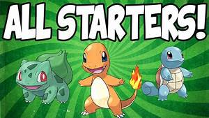 How To Start With All 3 Starters In Pokemon Leafgreen