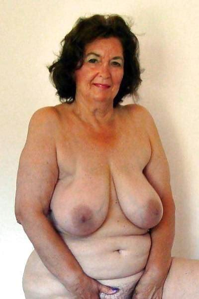 Old Granny Big Tits Lesbian