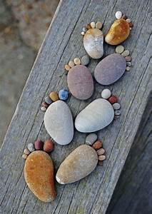 Basteln Mit Steinen : steine bemalen 40 bastelideen f r eine gelungene ~ Watch28wear.com Haus und Dekorationen