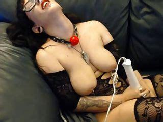 Bbw Nipple Clamp Masturbation
