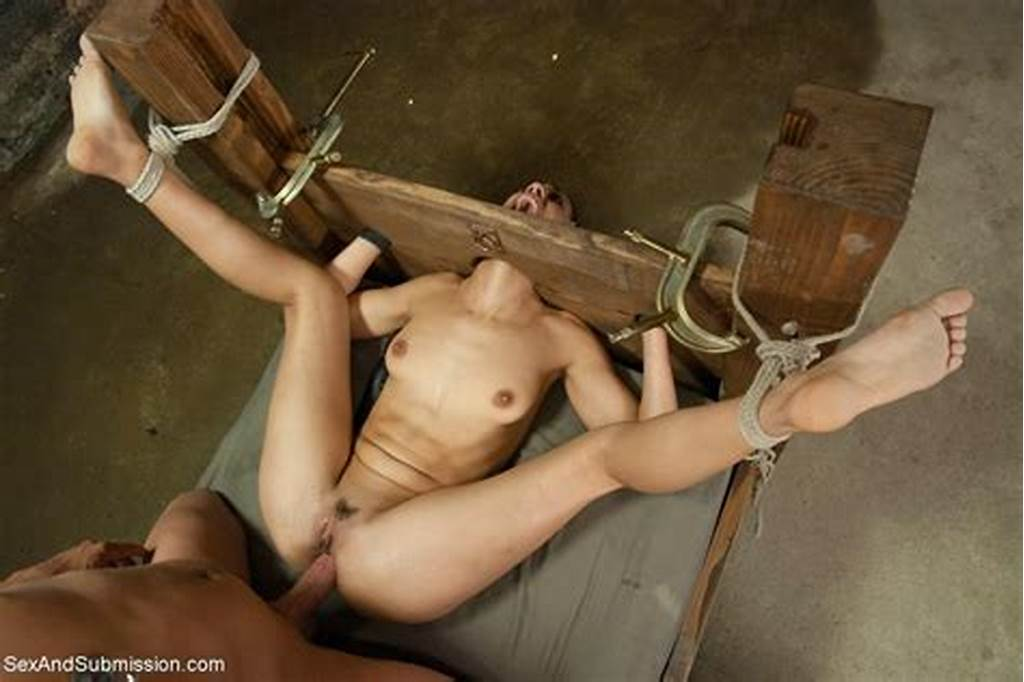 #Babe #Gets #Tied #Up #Ass #Hooked #And #Deep #Anal #Fucked