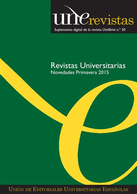Unerevistas Primavera 2015 by Unión de Editoriales
