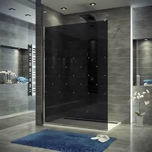 porte de douche coulissante battante et fixe en 95 idees With porte de douche coulissante avec meuble salle de bain design luxe