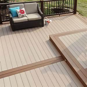 Lame De Terrasse Composite : lames de terrasse bois composite d corama ~ Edinachiropracticcenter.com Idées de Décoration