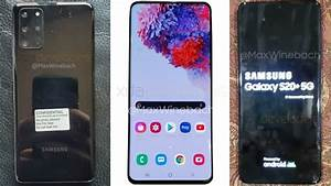 Samsung Galaxy S20  5g Live Images Surface Online  Show