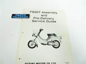 Nos Suzuki Assembly And Pre Delivery Service Guide Manual