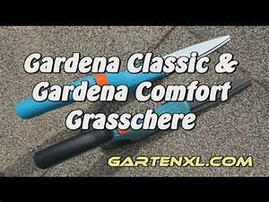 Gardena Grasschere Comfort : gardena comfort grasschere gardena classic grasschere im gartenvergleich rasenscheren youtube ~ Watch28wear.com Haus und Dekorationen