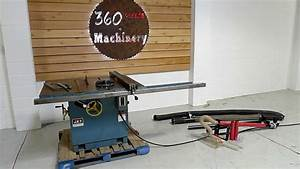 Jet 16 U0026quot  Blade Capacity 7 5hp Table Saw