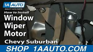 How To Install Replace Rear Window Wiper Motor 2000