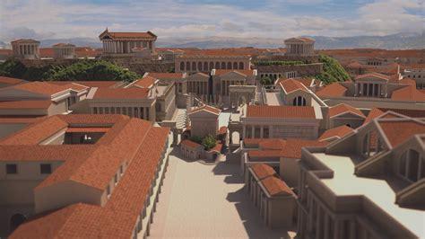Roman Forum 3D - YouTube