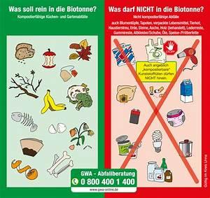 Was Darf Nicht In Die Mikrowelle : bioabfall gwa gesellschaft f r wertstoff und ~ Watch28wear.com Haus und Dekorationen