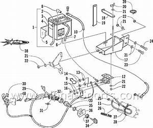 Arctic Cat Atv Parts Diagram