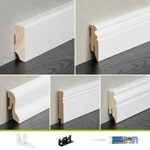 Sockelleisten Holz Weiß : sockelleisten wei sockelleiste fu leisten kabelkanal mdf 58 mm leiste holz ebay ~ Watch28wear.com Haus und Dekorationen