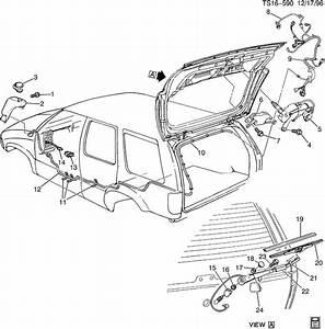 Chevrolet Blazer Blade  Rear Window Wiper  Rear Window