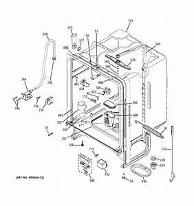 Ge Ghda480n10ww Dishwasher Parts