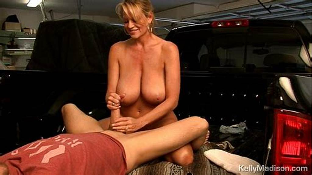 #Kelly #Madison #Jerking #Off #Cock #Before #Sitting #On #It