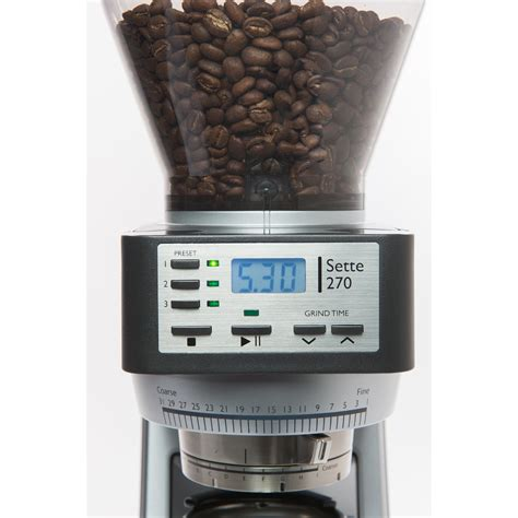 Be the first to review this product. Baratza Sette 270 Coffee Grinder - justcoffeetech