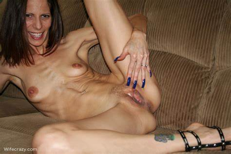 Teeny Hubby Filled Older Woman