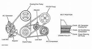 1996 Isuzu Trooper Serpentine Belt Routing And Timing Belt