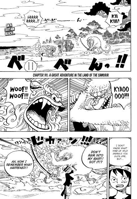 Stay terus di channel pasukan semut hitam info update : Manga One Piece Chapter 911 English - MangaRude