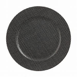 Lot D Assiette : lot de 12 dessous d 39 assiette redola noir d coration de table eminza ~ Teatrodelosmanantiales.com Idées de Décoration