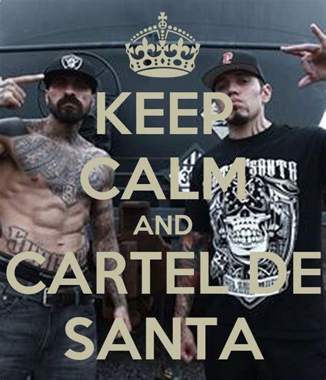KEEP CALM AND CARTEL DE SANTA KEEP CALM AND CARRY ON