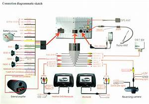 Wiring Diagram For Headrest Monitors