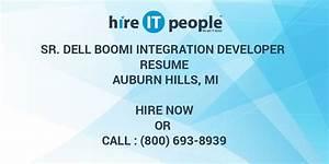 Business Analysis Resumes Sr Dell Boomi Integration Developer Resume Auburn Hills