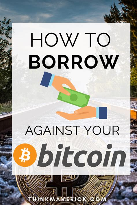 Create a loan offer in the funding page. 5 Best Bitcoin Loan Sites to Get a Bitcoin Loan - ThinkMaverick - My Personal Journey through ...
