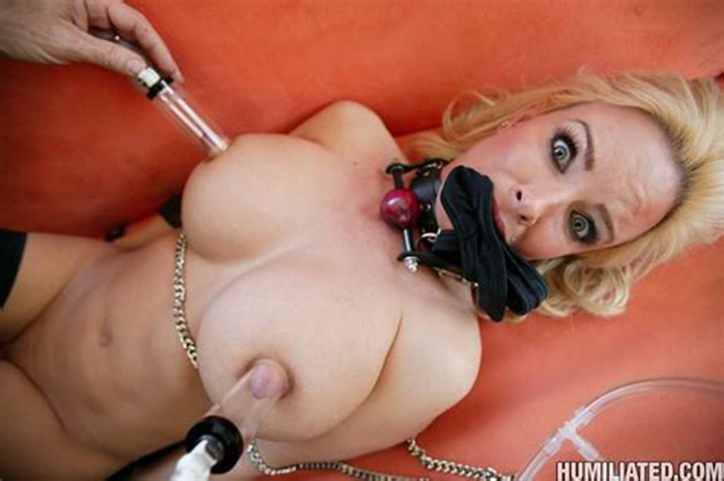 #Busty #Milf #Tied #Up #And #Drilled #With #A #Large #Powerdildo