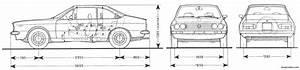 Lancia Beta Coupe 3 Blueprintbox Com Plan