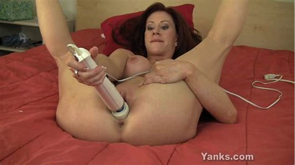 #Hitachi #Insertion #Is #A #Big #Fun #For #This #Busty #Mature