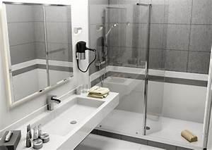 Transformer Baignoire En Douche : remplacement de baignoire par une douche r novbain paris ~ Dallasstarsshop.com Idées de Décoration