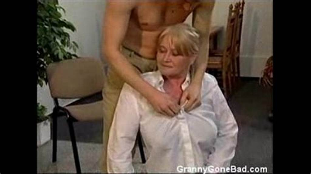 #Granny #With #Big #Soft #Tits #Get #Fingered #And #Fucked