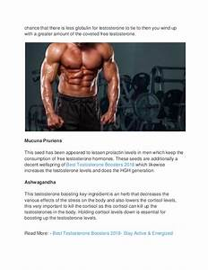 Best Testosterone Boosters 2018