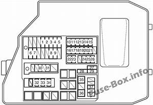 Fuse Box Diagram Pontiac Vibe  2009
