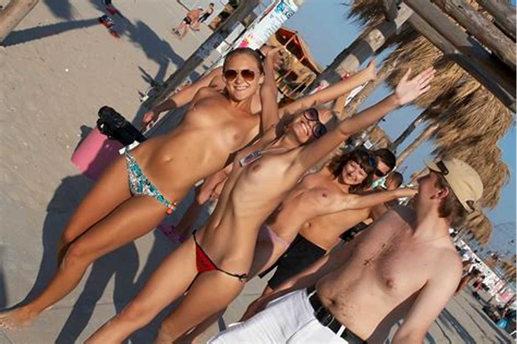 #Hot #Teen #Drunk #Naked #On #Beach