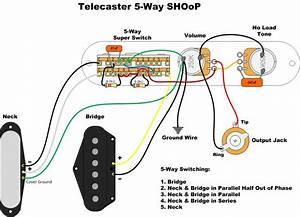 Fender 52 Tele Wiring Diagrams