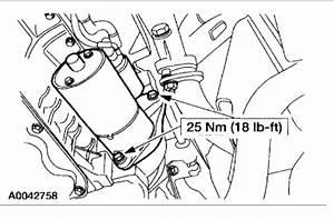 Starter  Starter Location For 2002 Mercury Mountaineer
