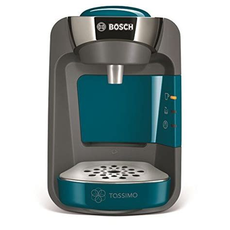 Unique technology for exquisitely crafted coffee creations. Bosch Tassimo Suny pod or capsule coffee device (pacific blue) (Tassimo pods) | Pod coffee ...