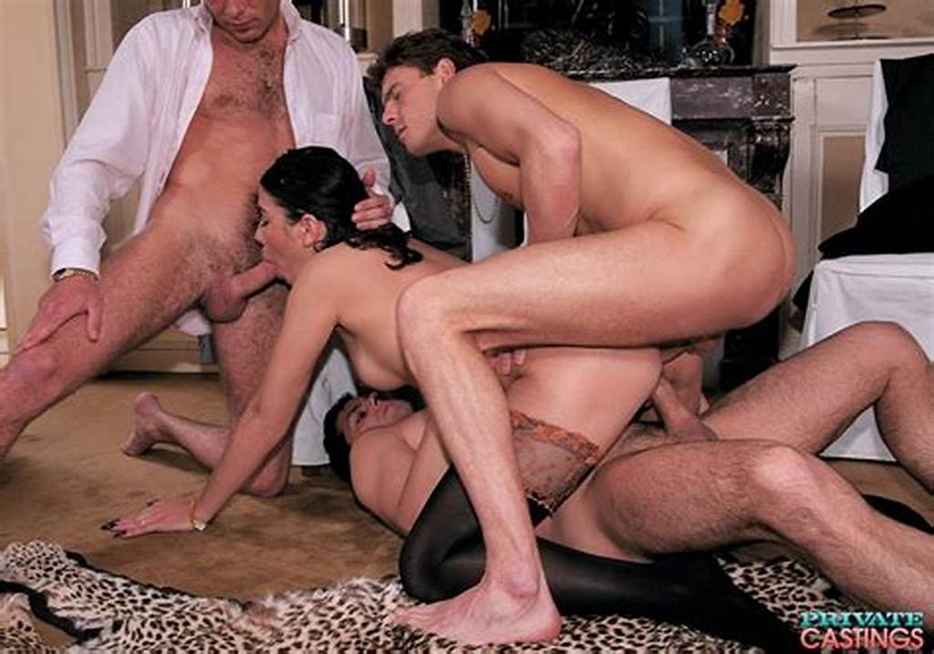 #Dark #Haired #Amateur #Reenacts #A #Classic #Gangbang #Sex #Scene