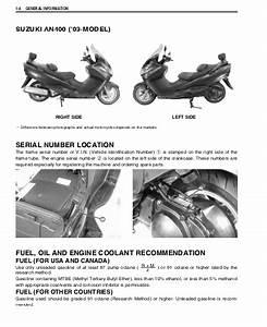 Download Suzuki Burgman An400 Service Manual    Zofti