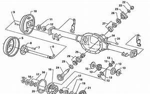 Ford F250 Rear Axle Diagram