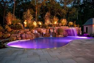 Backyard pool designs ideas to perfect your backyard for Swimming pool and landscape designs