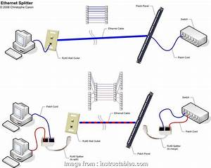 16 Fantastic Ethernet Cable Splitter Wiring Diagram