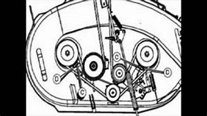 Cub Cadet 1515 Deck Belt Diagram