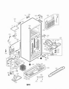 Ge Refrigerator Parts Diagram